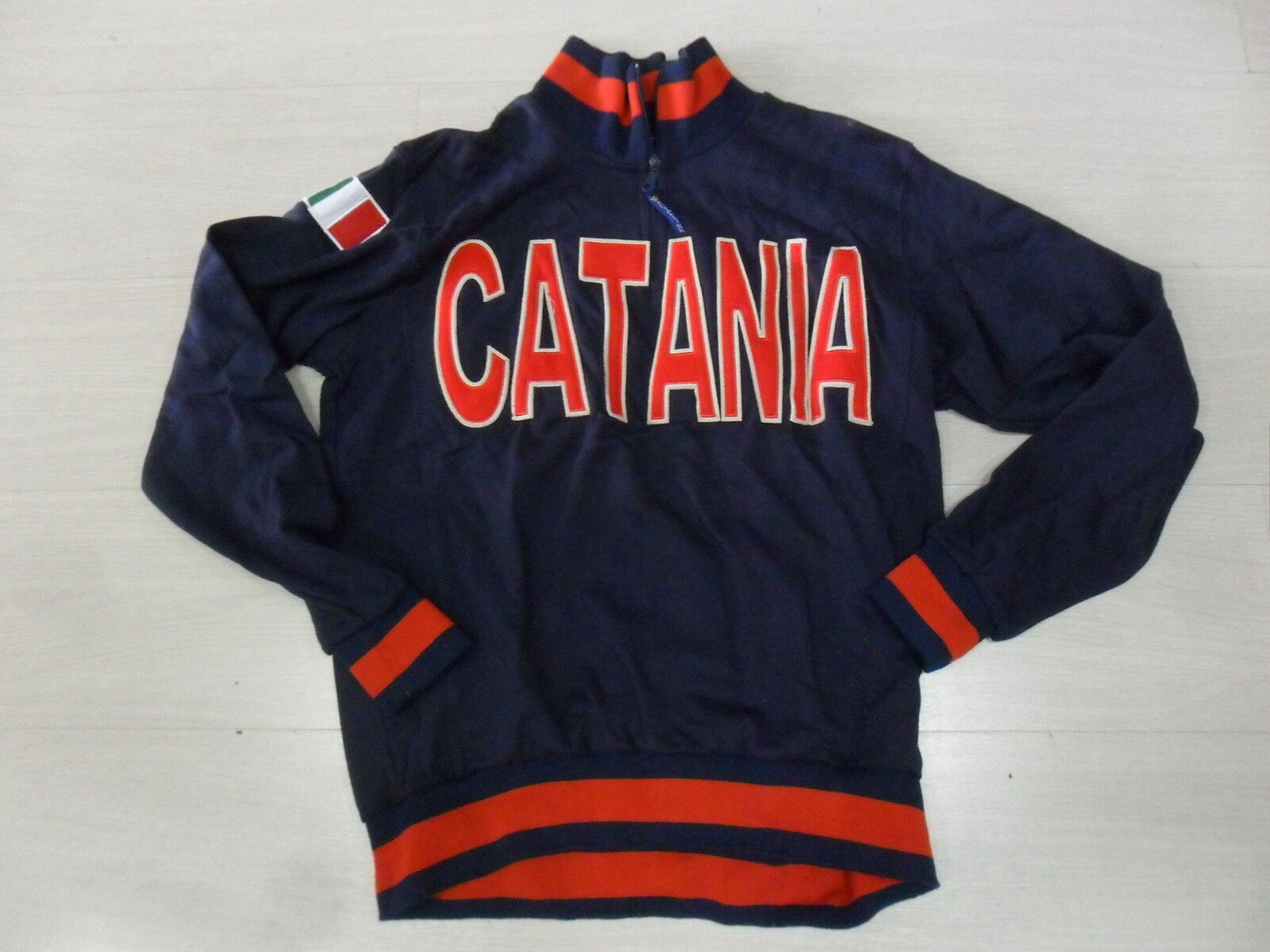 1321 size XL SWEAT-SHIRT DEMI FERMETURE ÉCLAIR CATANIA SICILE SICILE VESTE
