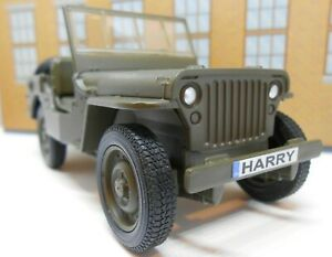 Details About Army Jeep With Personalized Plates Model Toy Car Boy Dad Girl Birthday Gift New