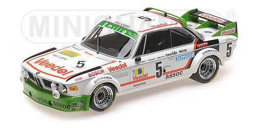 Minichamps BMW 3.0 CSL WINNER 24HR SPA 1976  5 1 18New