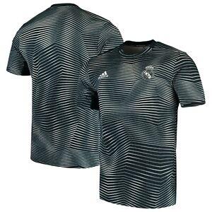 Adidas-Uomo-Real-Madrid-Pre-Partita-Parley-Calcio-Maglia-XL-Save-40