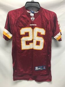 Image is loading Clinton-Portis-Washington-Redskins-26-NFL-Football-Reebok- 75d56342a