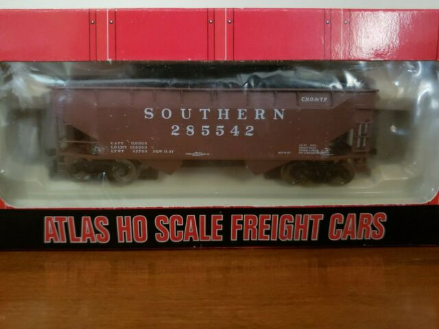 HO Scale Atlas CNO&TP Southern 2 Bay Offset Hopper Car 285542 NO. 1854 BOX WEAR