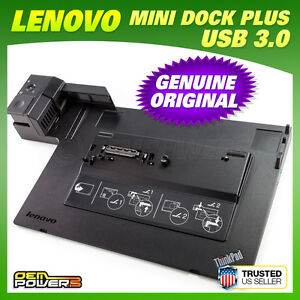 Lenovo-Thinkpad-Mini-Dock-Plus-433835u-Docking-Station-w-USB-3-0-W510-W520-W530