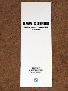 1995-BMW-3-SERIES-PRICE-LIST-amp-SPECIFICATIONS-M3-Coupe-Conv-Saloon-Touring