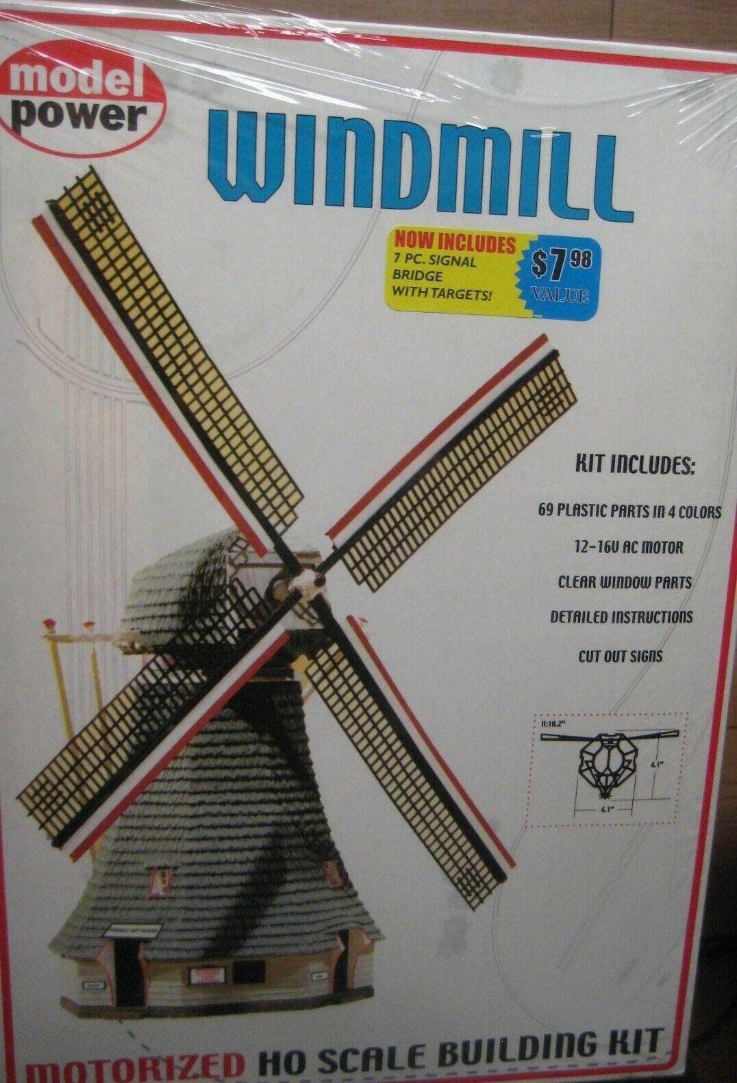 MODEL POWER WINDMILL W/MOTOR # 404