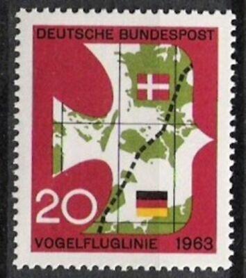 DemüTigen Bund Nr.399 ** Vogelfluglinie 1963, Postfrisch
