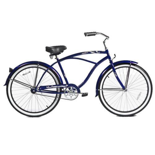 """Micargi 26/"""" Tahiti Men beach cruiser bicycle bike Red"""