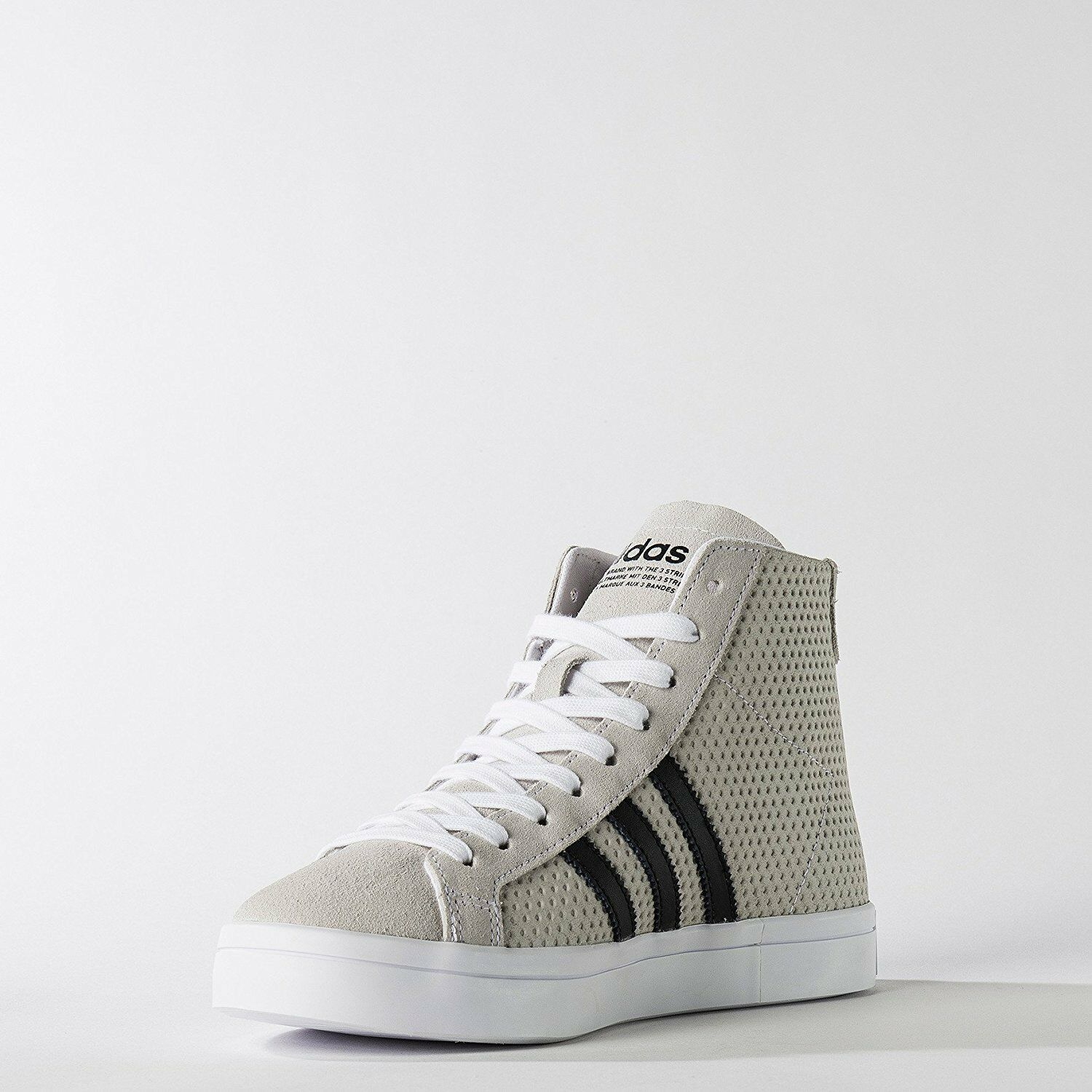 ~nib~Adidas COURT VANTAGE MID Shoes Honey Courtvantage Superstar~Donna size 10