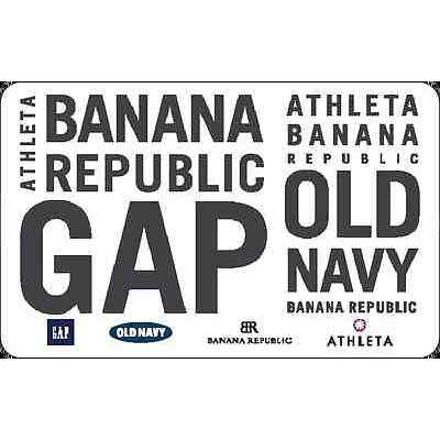 Gap Options Gift Card - $25 $50 $100 - Email delivery