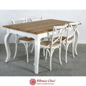 TAVOLO LEGNO BIANCO SHABBY CHIC tavoli in legno massello bianchi ...