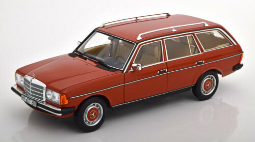 1:18 Norev Mercedes 200 S123 Estate 1982 red
