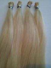 "I-TIP HUMAN HAIR EXTENSIONS FOR MICRO LINKS FINEST QUALITY 18"" RUSSIAN REMY 3OZ."
