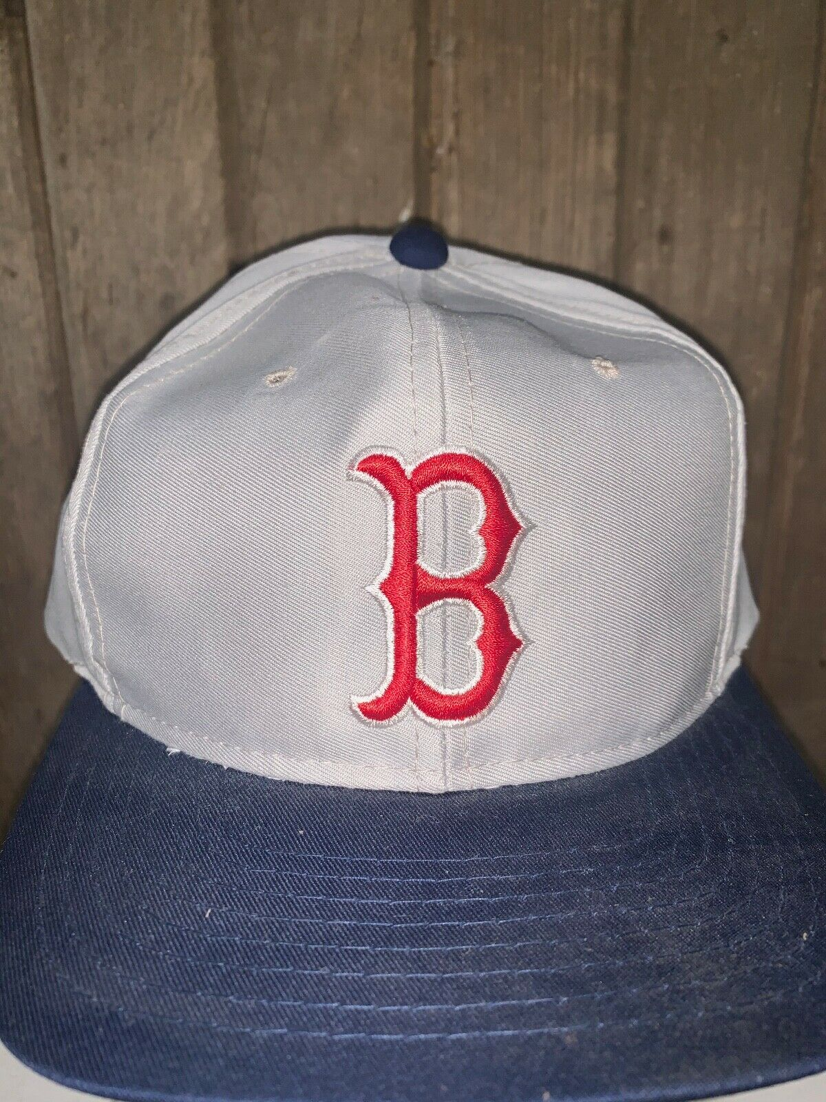 VINTAGE 80s/90s Boston Red Sox MLB Grosscap Brand… - image 3