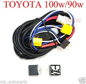 Details about H4 9003 Harness relay Halogen Headlight Head Lamp Upgrade on