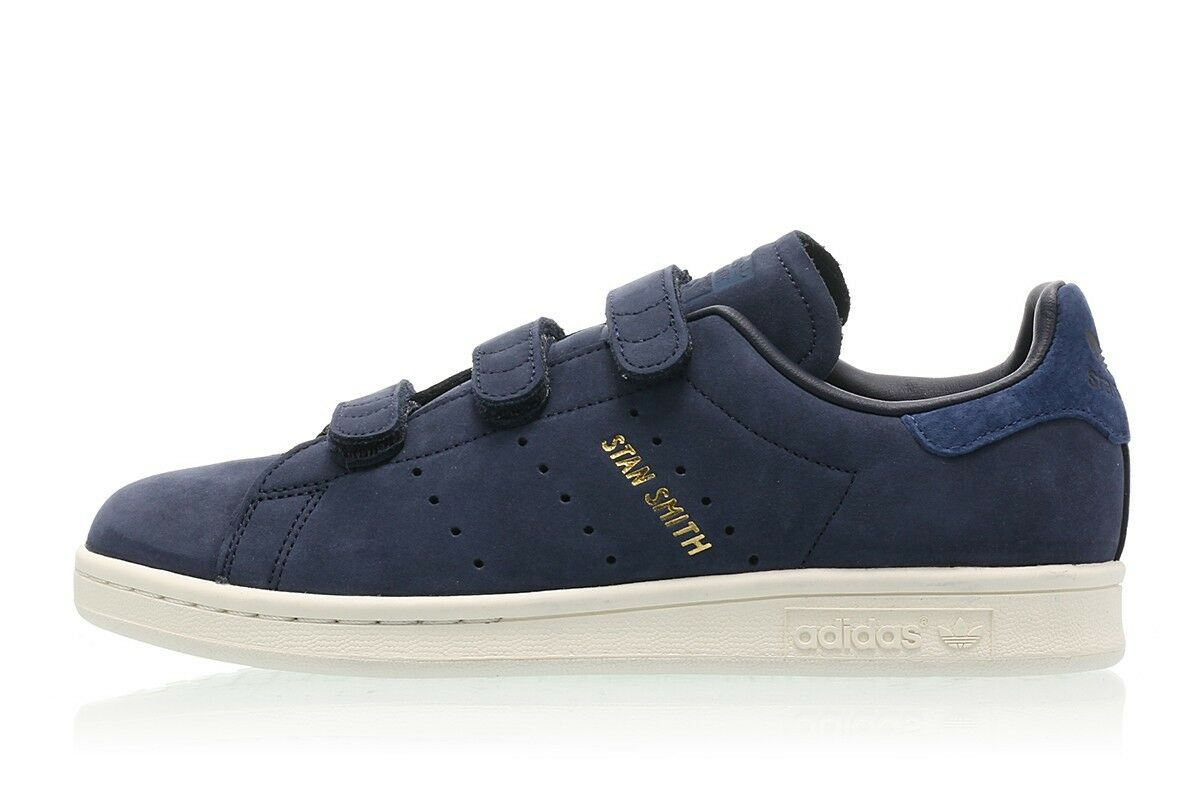 Adidas Originals Womens Stan Smith CF W Navy Sneakers - uk 6 - eu 39.3 suede H&L