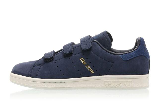brand new 2c626 004e1 adidas Originals Womens Stan Smith CF W Navy Sneakers - uk 6 - eu 39.3 suede