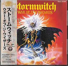STORMWITCH War Of The Wizards JAPAN CD OBI TECX-25484 /Tyran' Pace Accept
