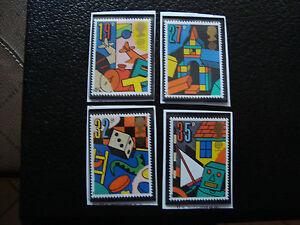 UK-Briefmarke-Yvert-Und-Tellier-N-1380-A-1383-N-A22-Briefmarke