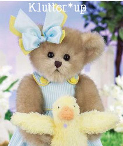 "Bearington Bear WHITNEY /& WADDLES #143265 14/"" Doll Duck*SPRING 2013"