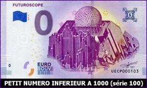 2019 DernièRe Conception Ue Cp-3 / Futuroscope / Billet Souvenir 0 Euro / 2019-3* Longue DuréE De Vie