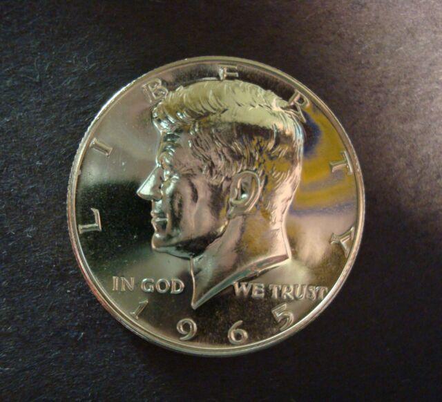 1965 50C Kennedy Half Dollar SMS Special Mint Strike GEM PROOF