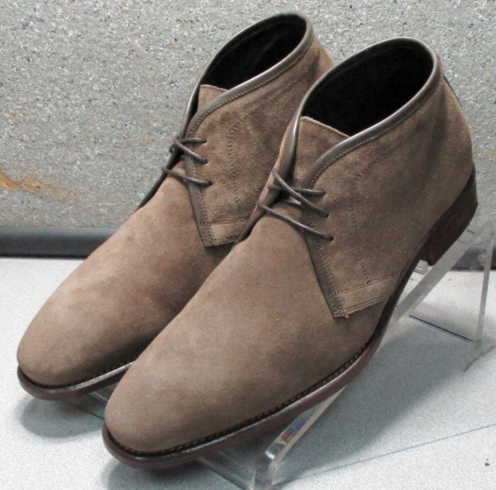 241936 PFBTi 60 Homme Pointure 8 marron en cuir MADE IN ITALY Johnston & Murphy