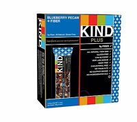 Kind Bars Blueberry Pecan + Fiber Bars Gluten Free 1.4 Ounce Ba... Free Shipping