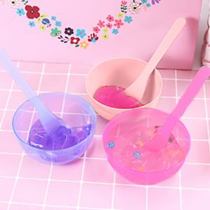 Ciotola con Cucchiaio Set Contenitore Argilla Plastilina Giocattoli per bambini