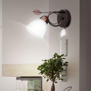 Lampe-murale-LED-chambre-d-039-amis-lumiere-VERRE-ALBATRE-veilleuse-Spot