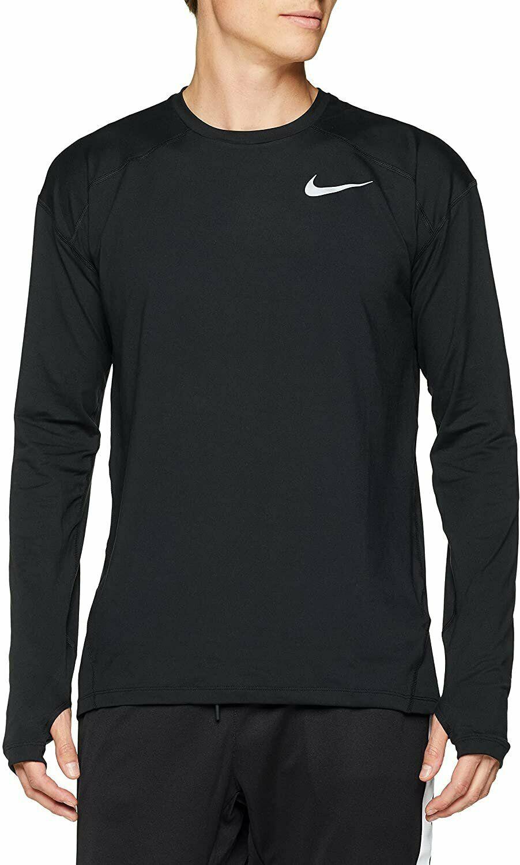 Reunión demandante Restringir  Nike Men's Dry Element Long Sleeve Running Shirt (Black, XL) for sale online