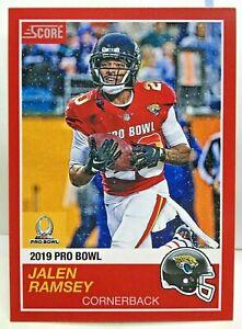 super popular eebe5 fd35f Jalen Ramsey 2018 Panini Instant #14 NFL 2019 Pro Bowl '89 ...
