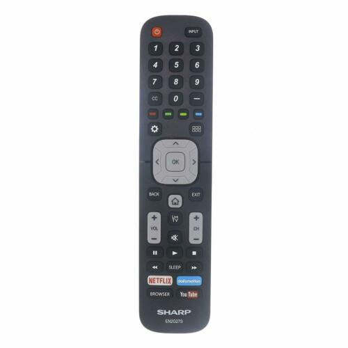 New Sharp EN2G27S LCD HD TV Remote Control For LC40N5000 LC-40N5000 LC43N5000