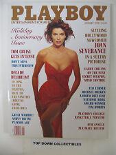 Playboy  Magazine Jan.1990 Joan Severance Pictorial/Andy Warhol Playboy ART