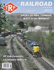 TRP #97 D&H & CONRAIL GP38s M-K-T in OKLAHOMA & KANSAS SP CAB-FORWARD, BEER CARS