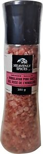 himalayan salt pink with grinder 380g