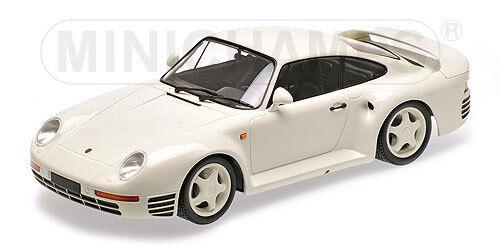 Minichamps 155066202 - PORSCHE 959 - 1987 - blanc 1 18