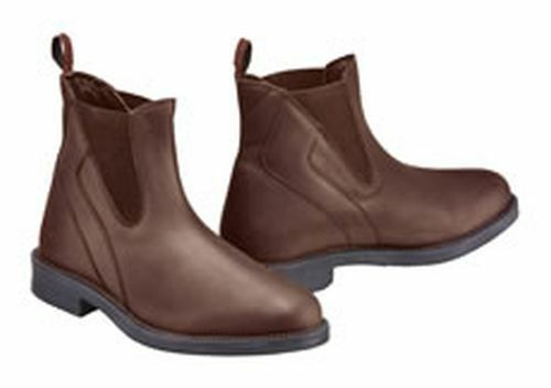 HARRY HALL JODHPUR BOOTS RECIFE UNISEX BROWN - SIZE 4 - HHL4112