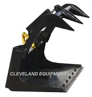 "NEW 36"" MINI GRAPPLE BUCKET ATTACHMENT Multi-One Mini Skid Steer Wheel Loader"