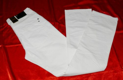 Basic by Brawns Paris Herren Jeans 5 Pocket Slim Fit Straight Leg W34 L32 White