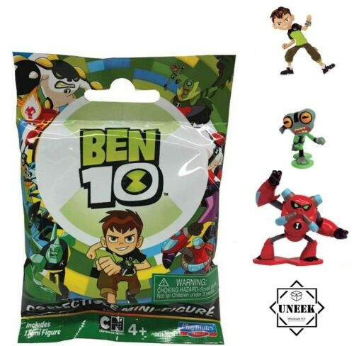 Mini BEN 10 Action Figures Pack Stocking Filler cadeau de Noël Jouet ND07930 UK