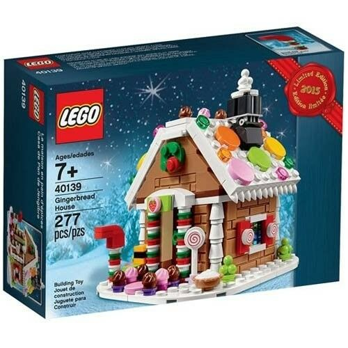 LEGO 40139 40139 40139 Gingerbread House (277 Pieces) 1f4dfc