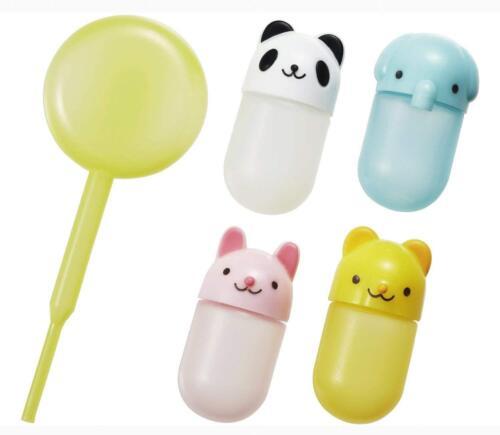 Torune Bento Lunch accessories Bento Animal Mini Sauce Case Container 4pcs Japan