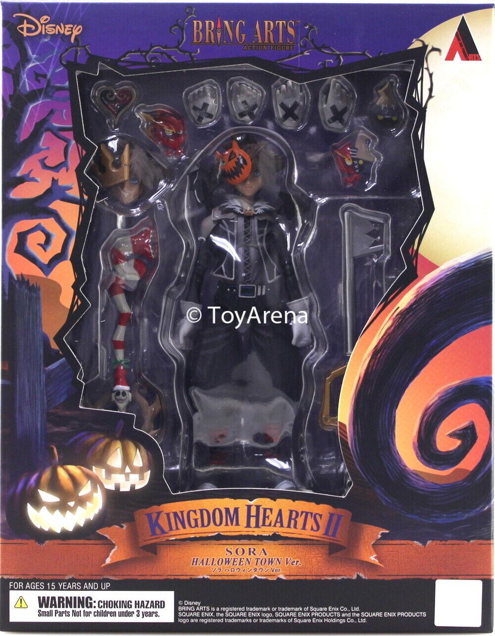 venta mundialmente famosa en línea Traer Artes Kingdom Hearts Ii Sora Halloween Town Ver. Ver. Ver. figura de Square Enix USA  suministro directo de los fabricantes
