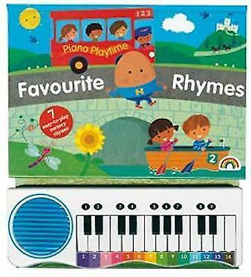 Piano Playtime Favourite Rhymes, Hardcover, Isbn 1784680885, Isbn-13 97817846