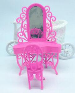 1Set-Plastic-Dresser-with-Mirror-For-Dolls-Home-Decor-Girls-Gift-Best-Z-T-ln