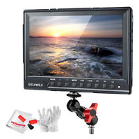 "Feelworld Fw760 7"" Hd Ips 1920x1200 Camera-top Field Monitor +magic Arm Adapter"