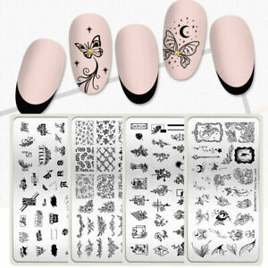 BORN-PRETTY-Christmas-Pattern-Stamping-Plate-Flower-Nail-Art-Image-Stamp-Stencil