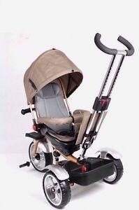 2017 balade en tricycle sur jouet bébé bambin landau poussette jogger voiture or