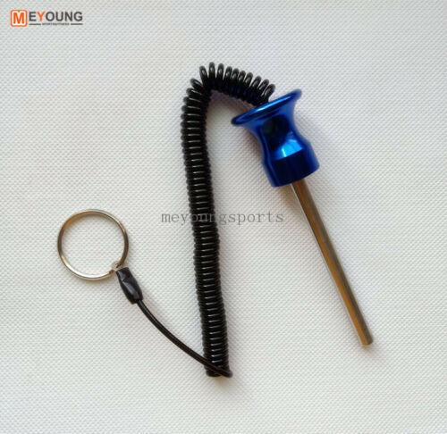 "Dia 5//16/"" 8mm Alumunim Magnetic weight stack pin Heavy Duty Selector Pin Key"