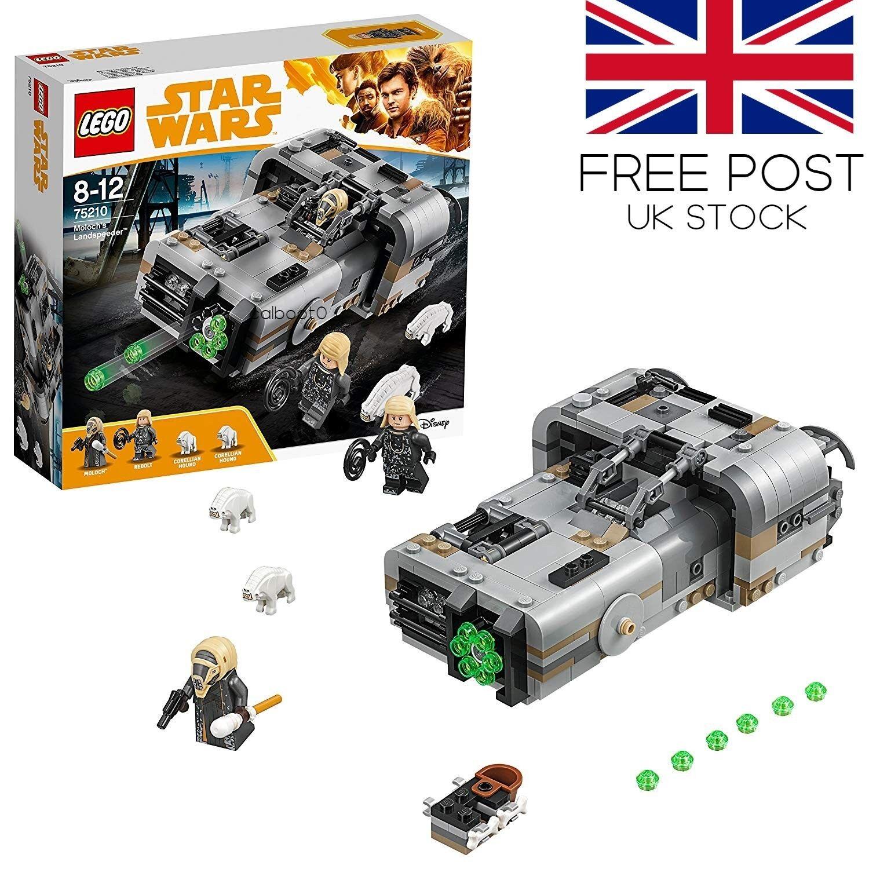 LEGO Star Wars Moloch's Landspeeder 2018 Brand New (75210) FREE POST